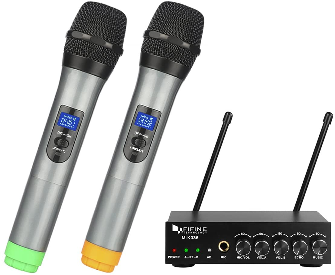 Fifine K036 Wireless Microphone System