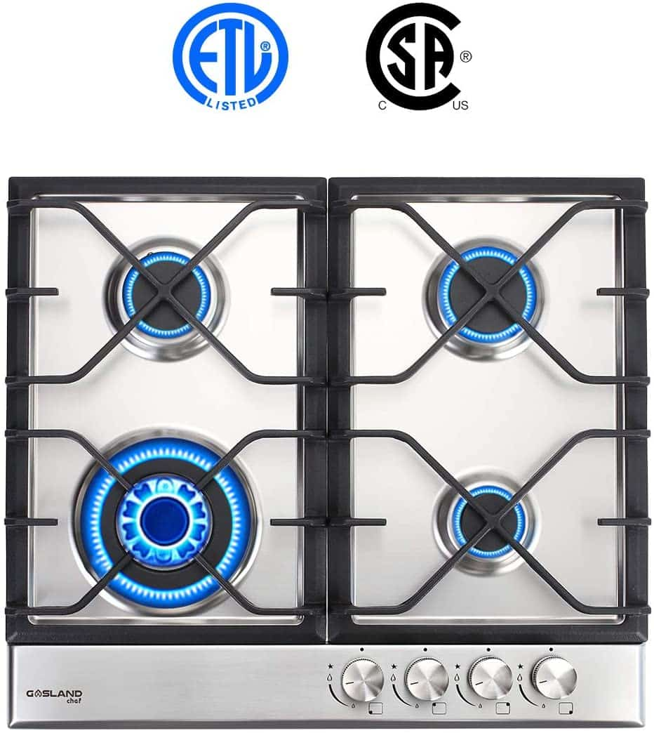 GASLAND Chef GH60SF 4 Burners Built-in Gas Hob