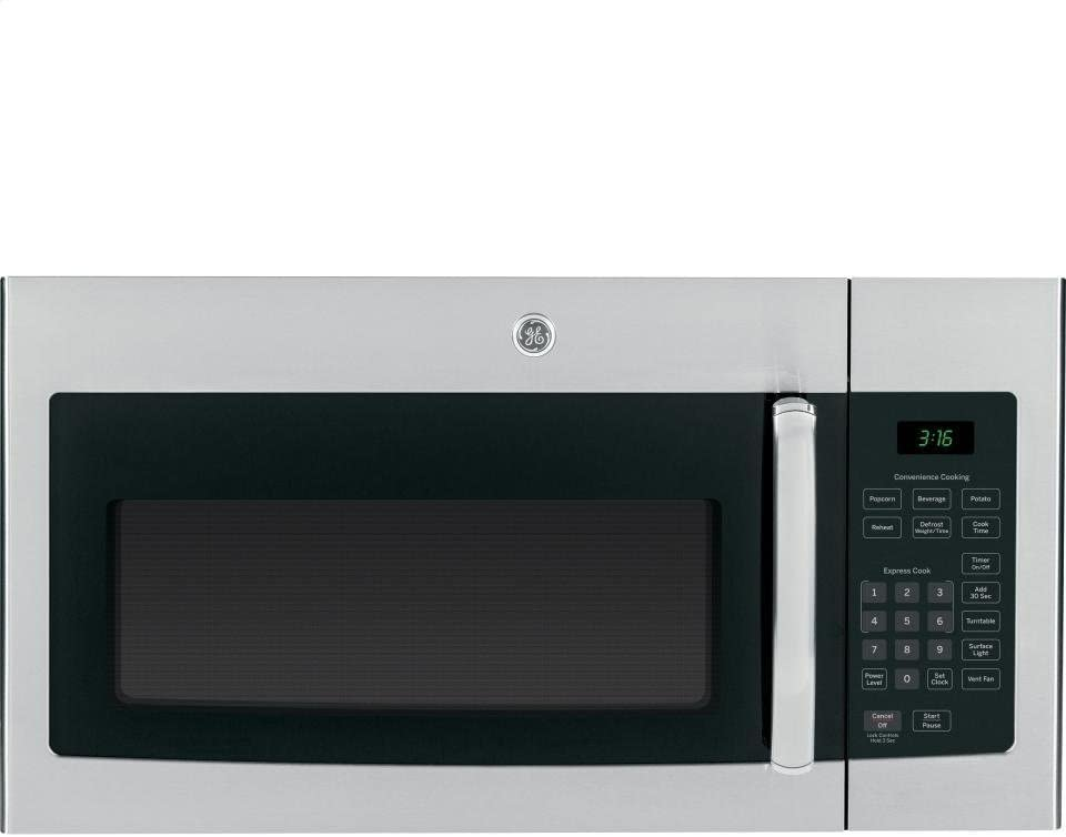 GE JVM3160RFSS Stainless Steel over the Range Microwave Oven