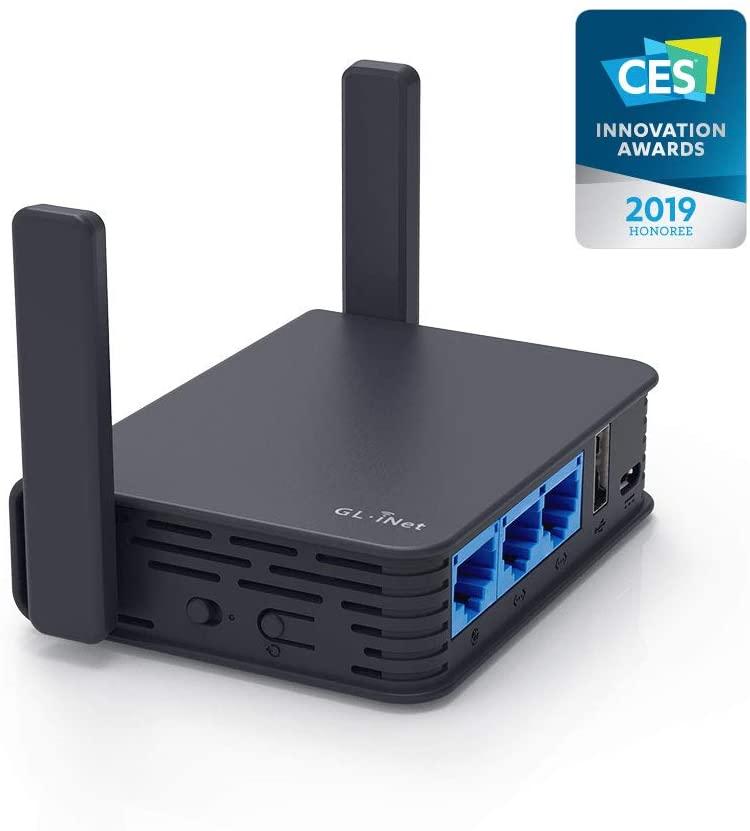 GL.iNet GL-AR750S-Ext Gigabit Travel AC Router