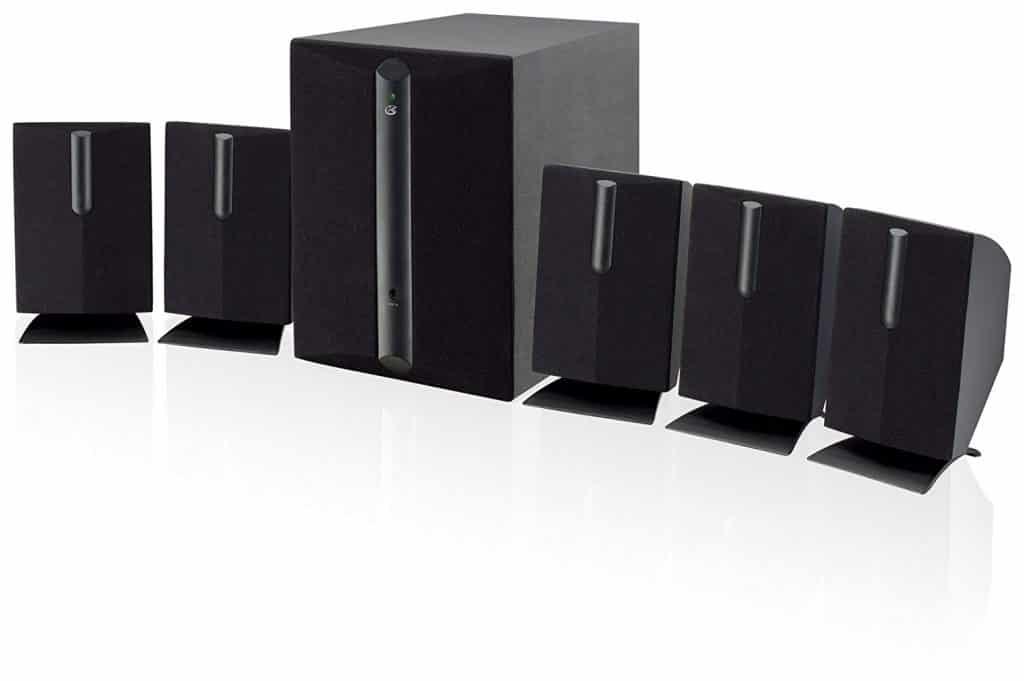 GPX HT050B 5.1 Channel Speaker