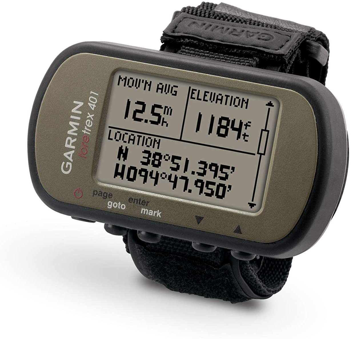 Garmin Foretrex 401 Waterproof Hiking GPS Watch