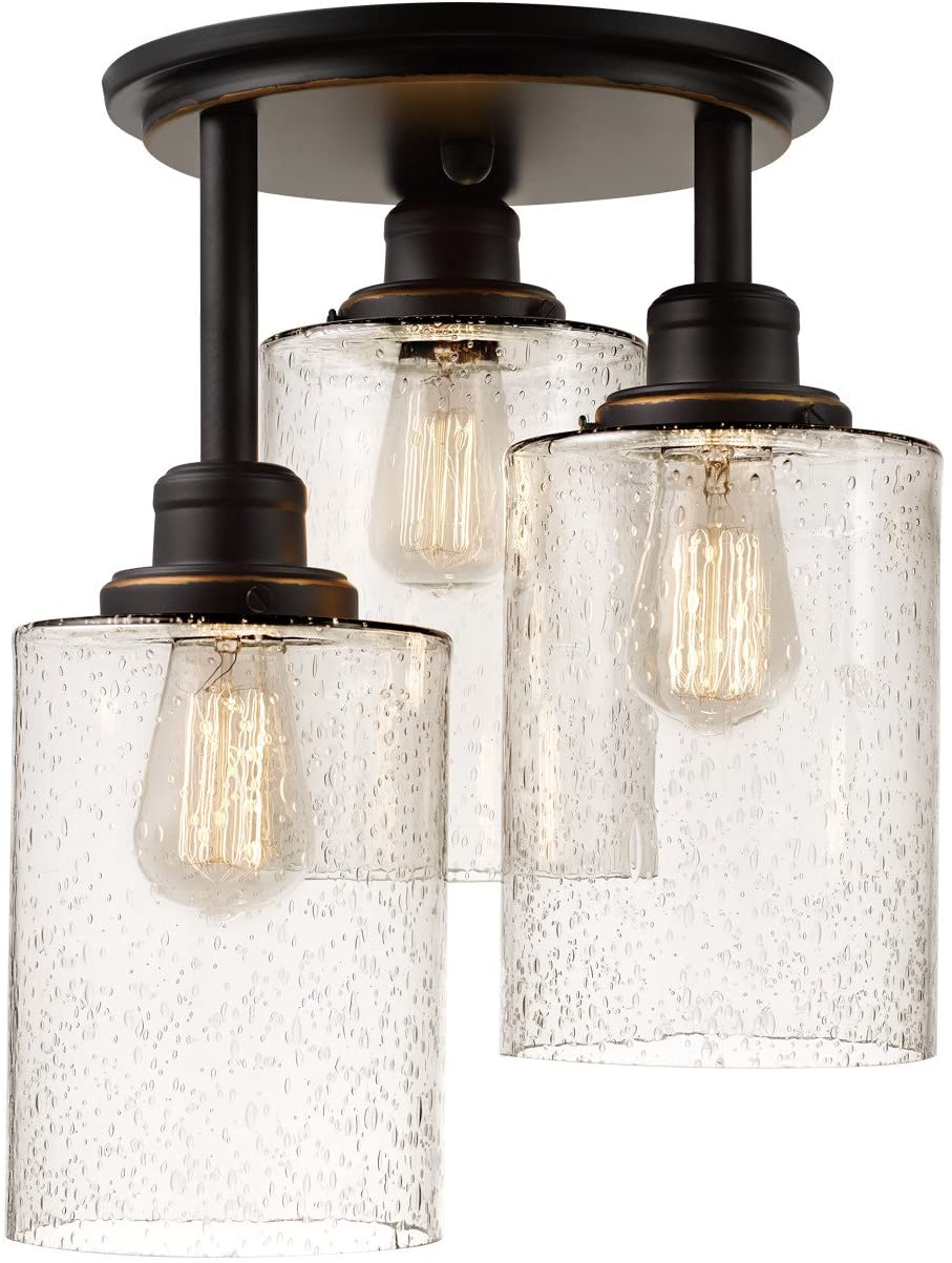 Globe Electric 3-Light Flush 65904