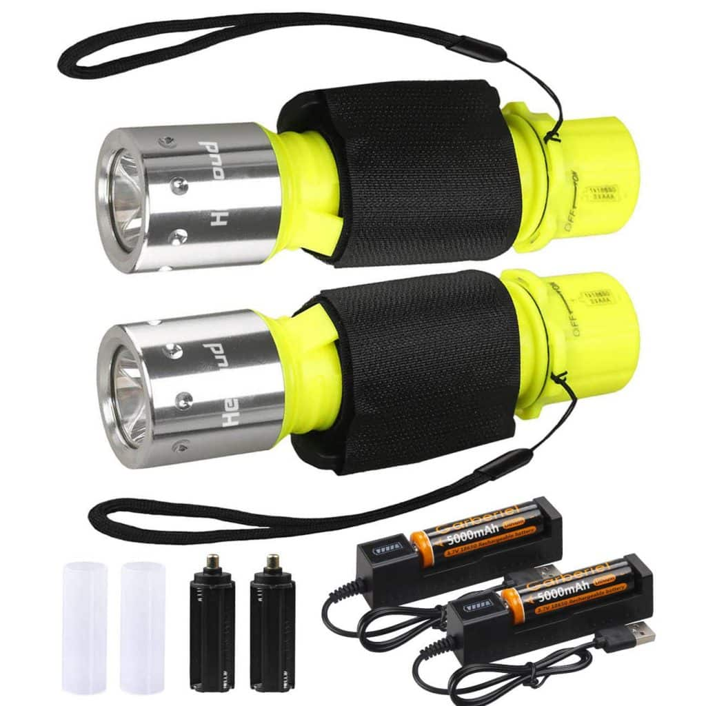 HECLOUD 2-pack LED Submarine light