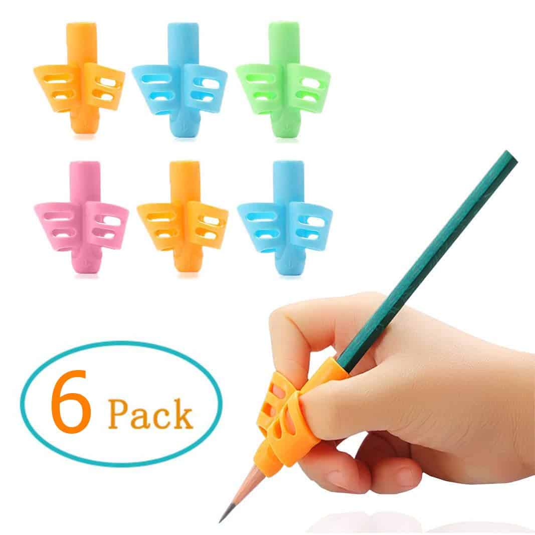 HILELIFE Silicone Gel Pencil Grip