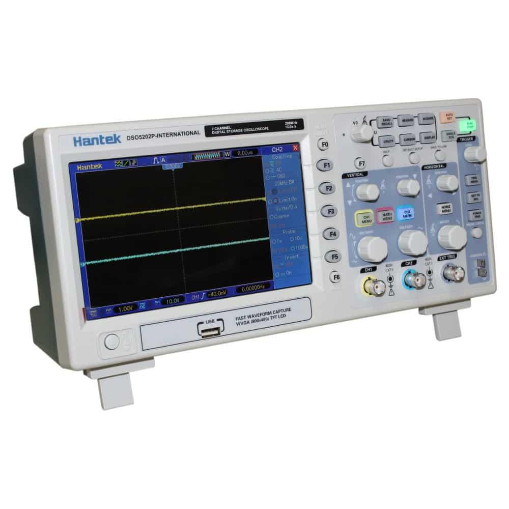 Hantek 200 MHz DS05202P Digital Oscilloscope