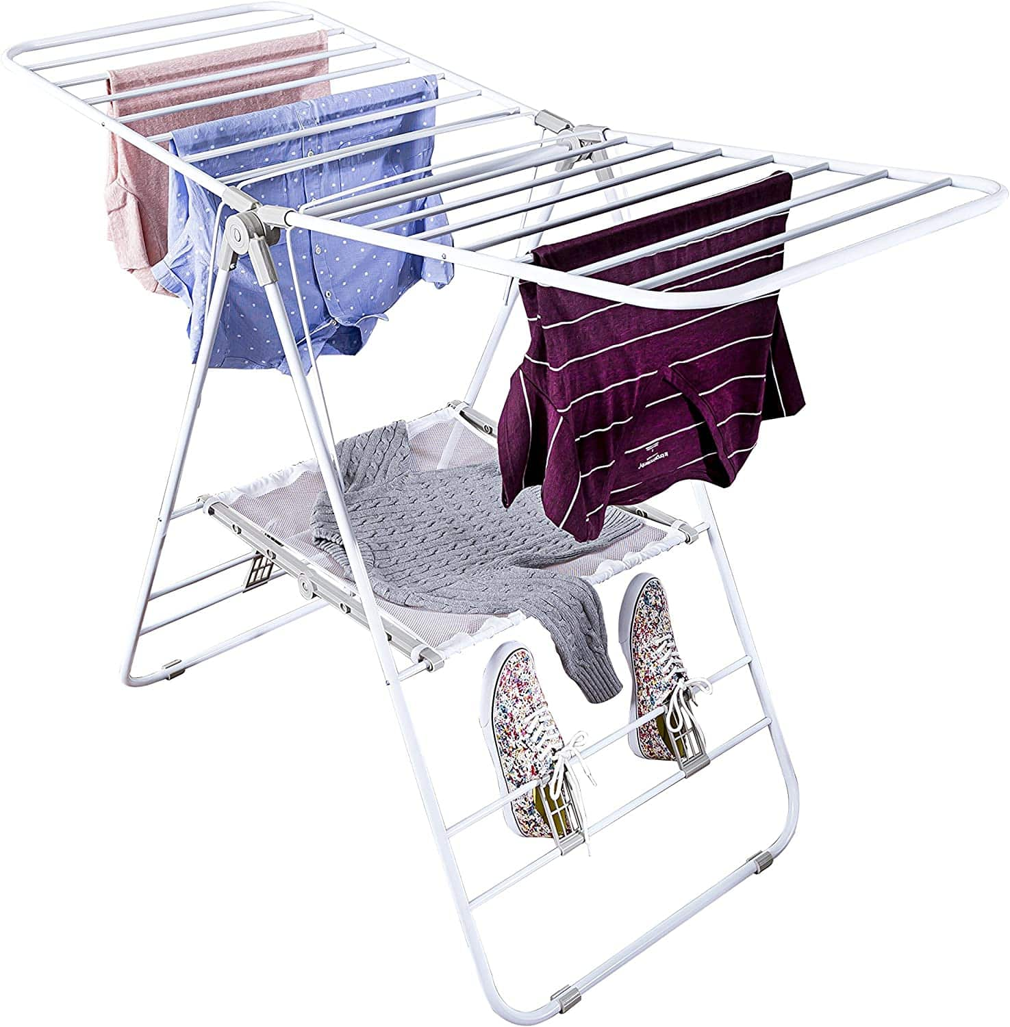 Honey-Can-Do Heavy Duty Gullwing Drying Rack