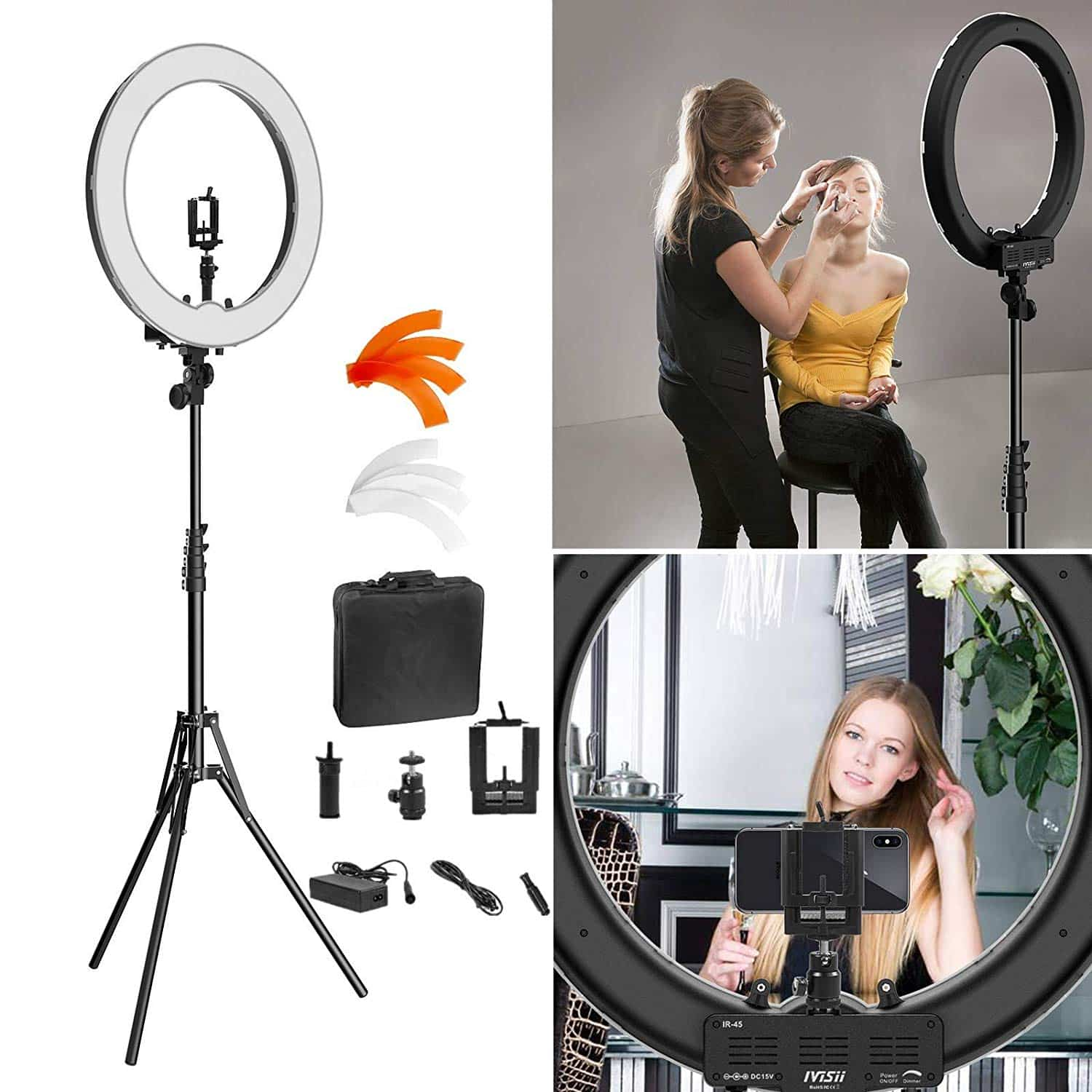 IVISII Ring Light with Stand