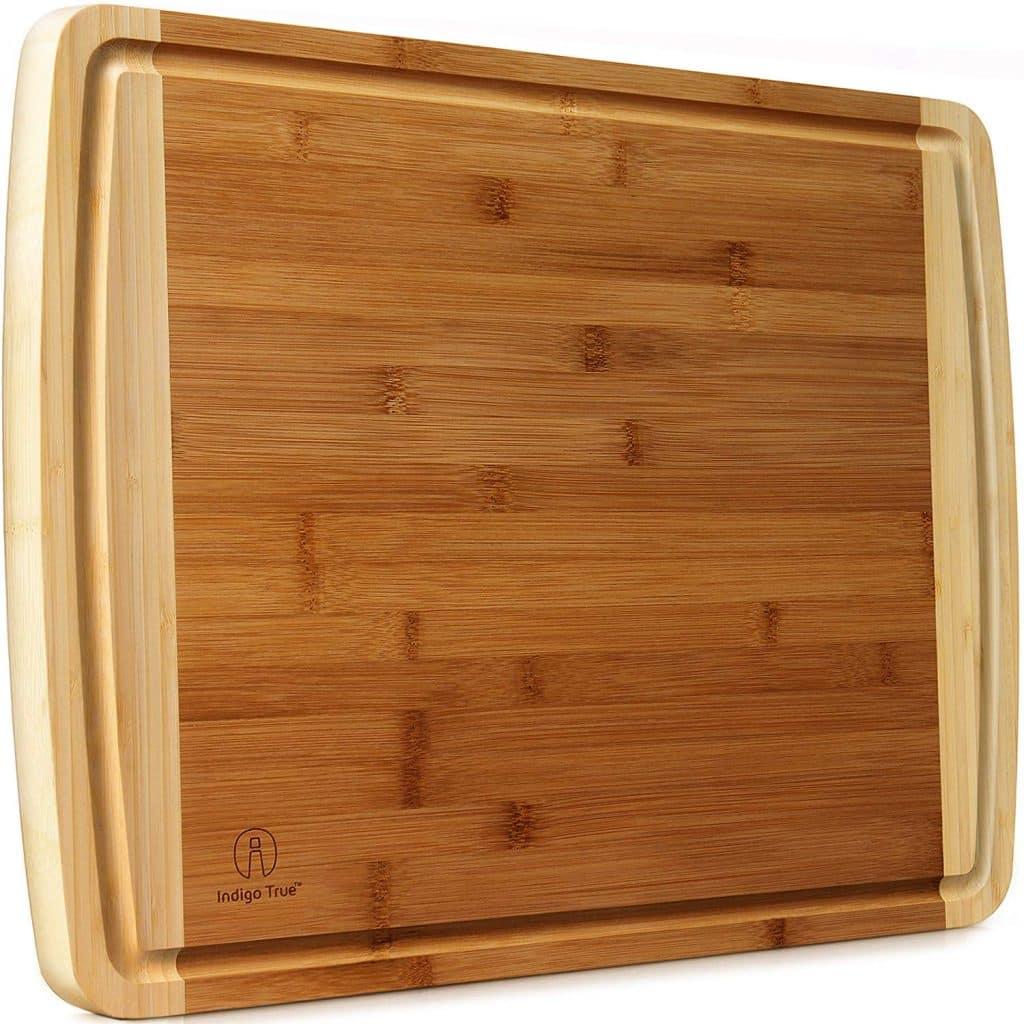 Indigo True Extra-Large Bamboo Cutting Board