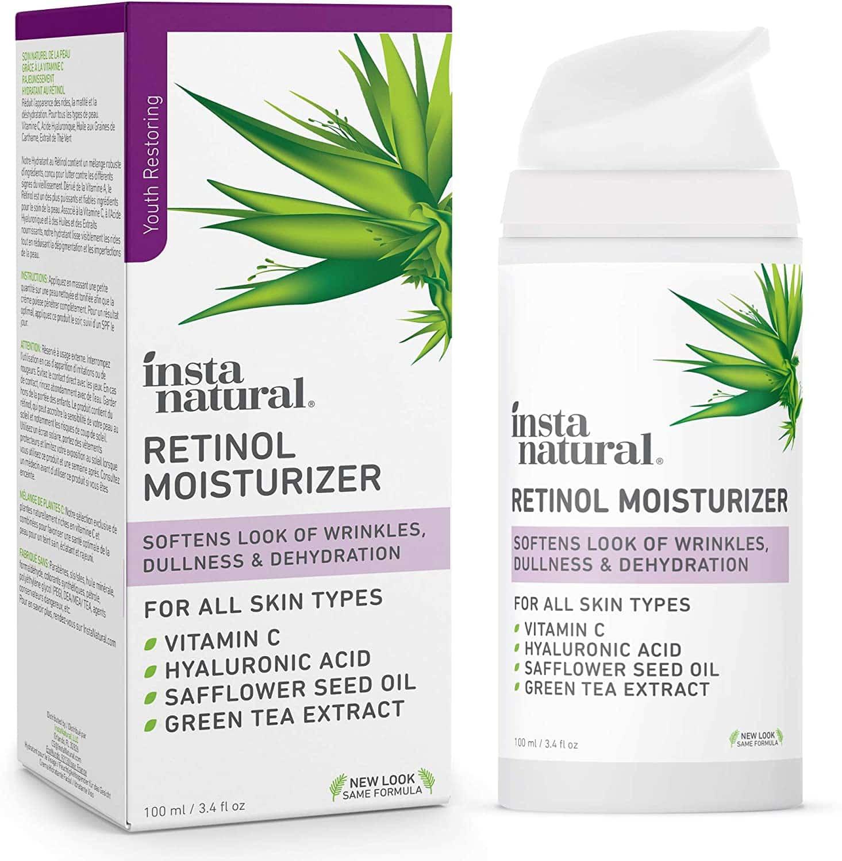 Instant Natural Retinol Moisturizer Anti-Aging Night Face Cream