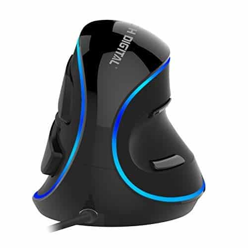 J-Tech Digital Wired Vertical USB Mouse