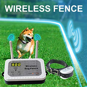 JUSTPET Wireless Electric Dog Fence System