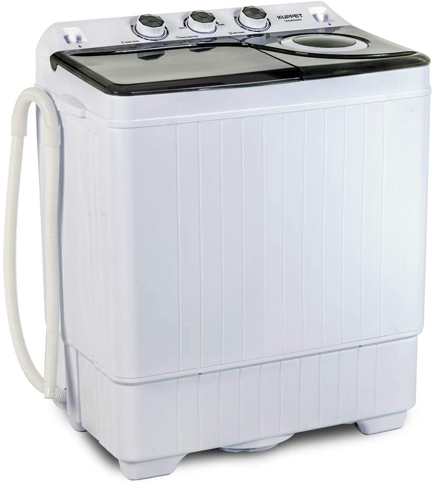 KUPPET Twin Tub Portable Mini Washing Machine