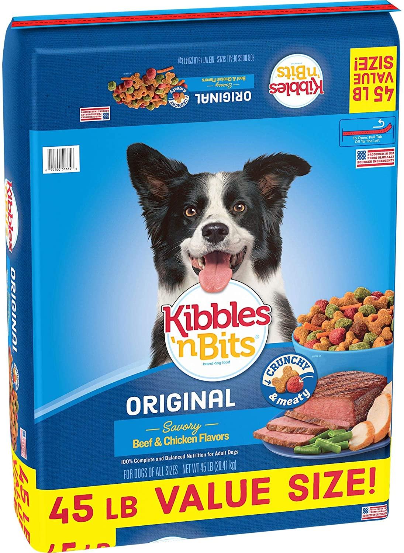 Kibbles 'N Bits Dog Food