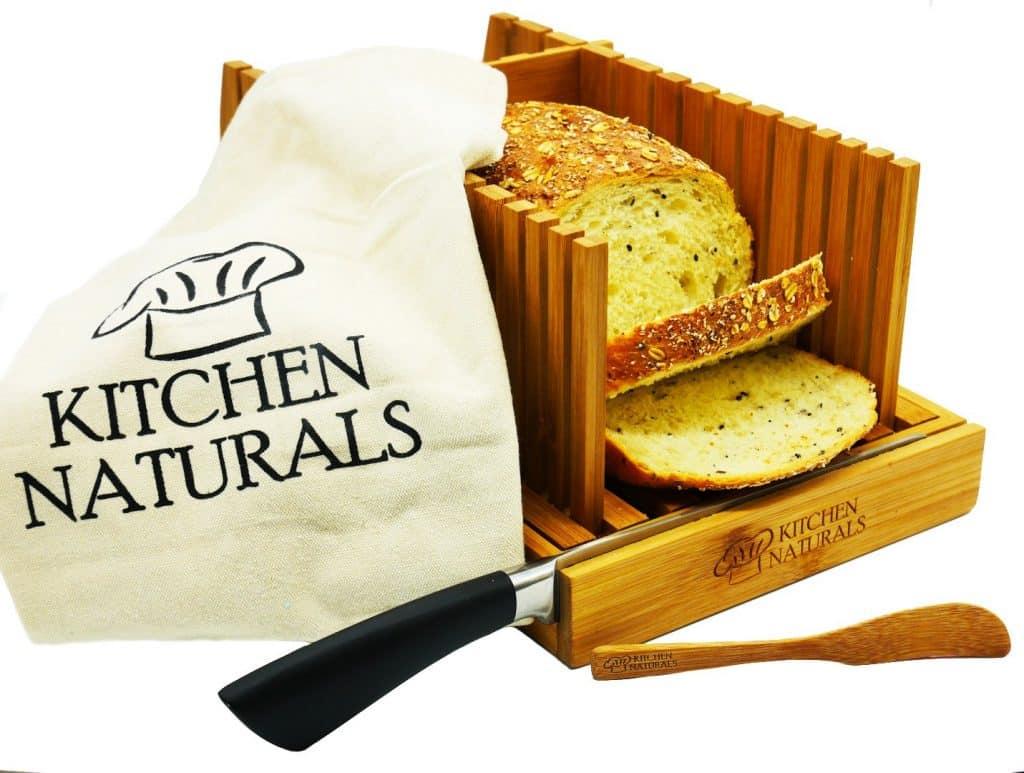 Kitchen Naturals Bamboo Bread Slicer