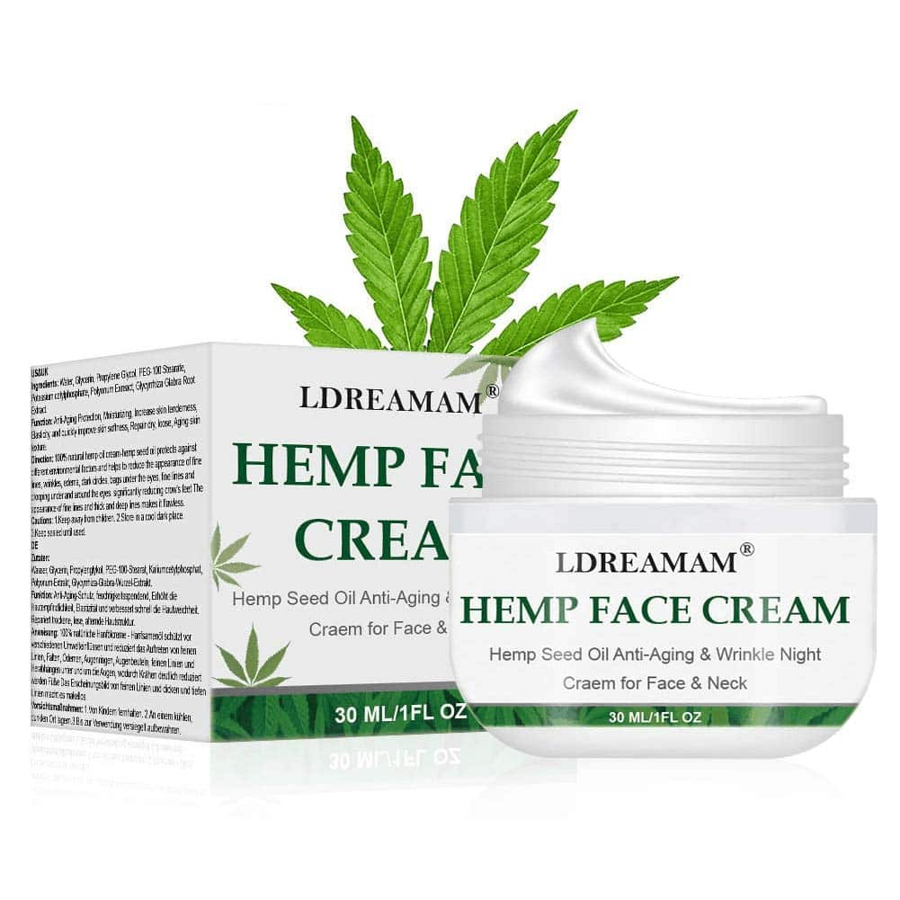 LDREAMAM Hemp anti-aging cream