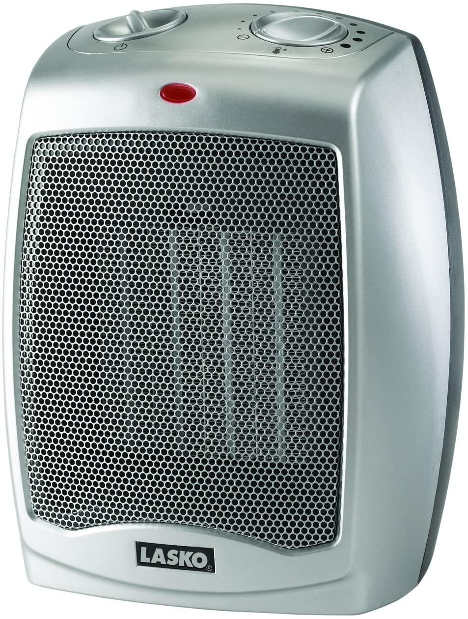 Lasko 754200 Ceramic Space Heater with Adjustable Thermostat