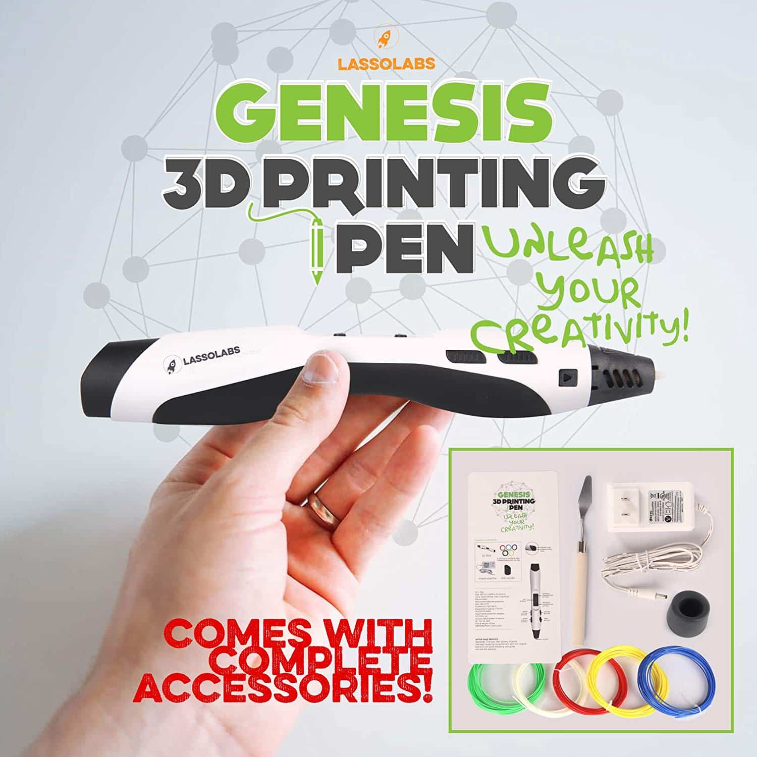 Lasso and GENESIS 3D Pen