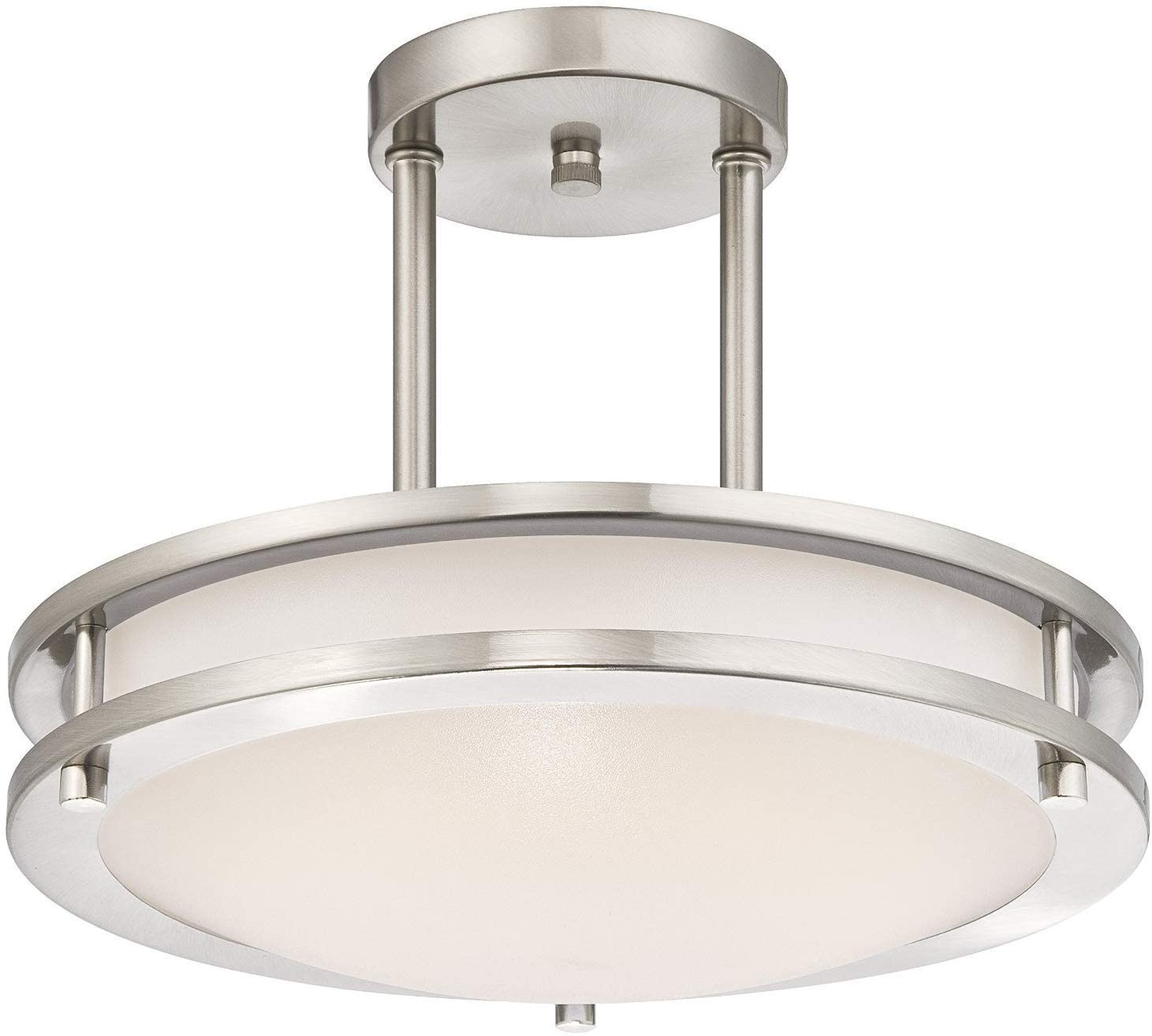 Light Blue LB72131 Semi Flush Ceiling Fixture