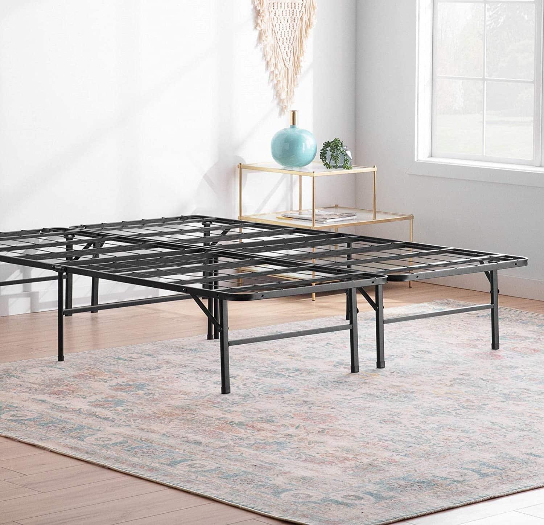 Linenspa Folding Metal Platform Bed Frame