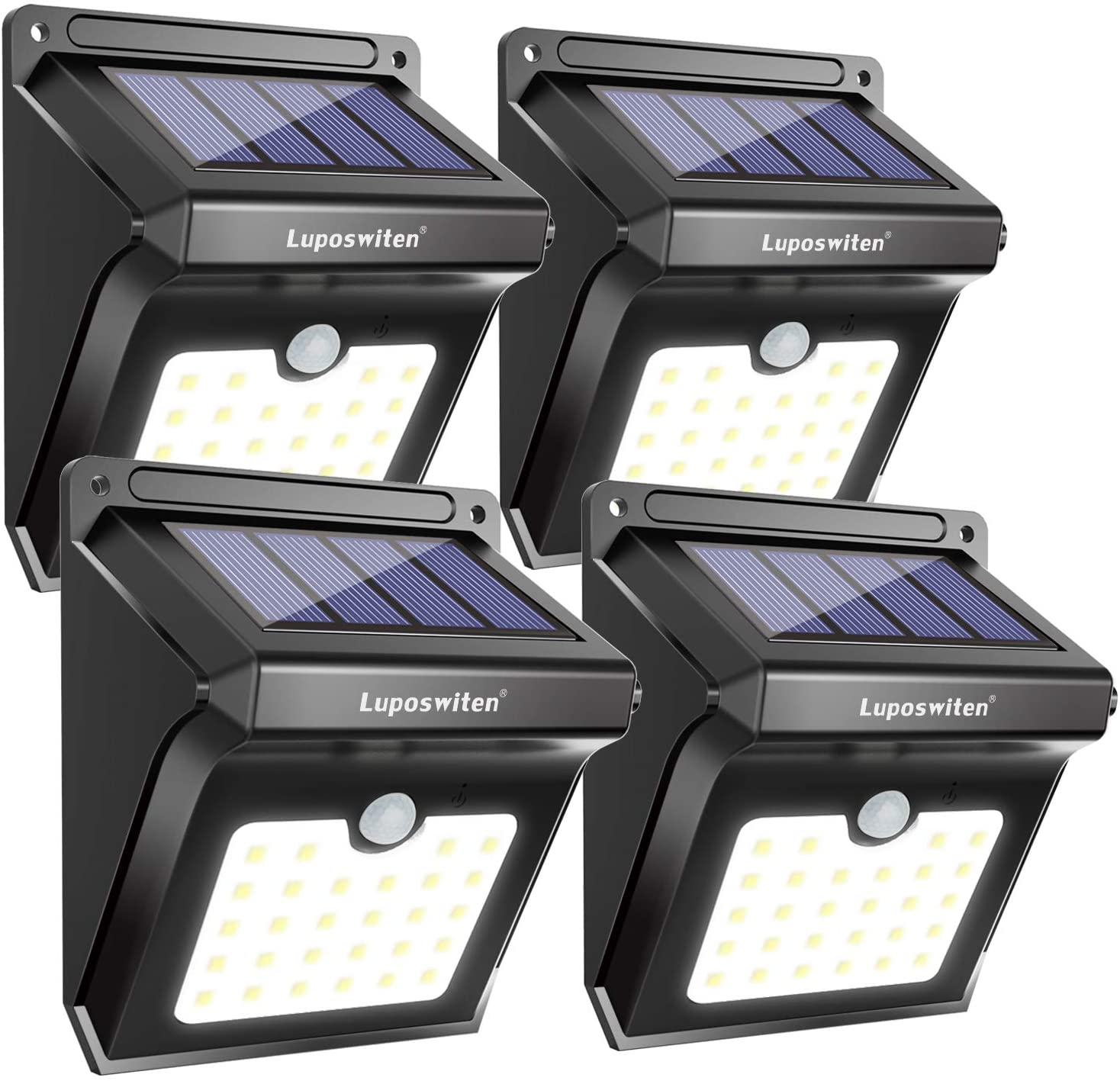 Luposwiten 28 LEDs Solar Lights Outdoor