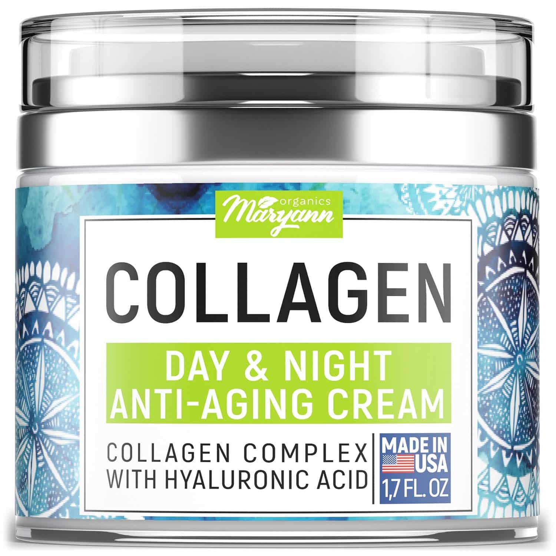 MARRYANN Organics Collagen Cream –Anti Aging Face Moisturizer