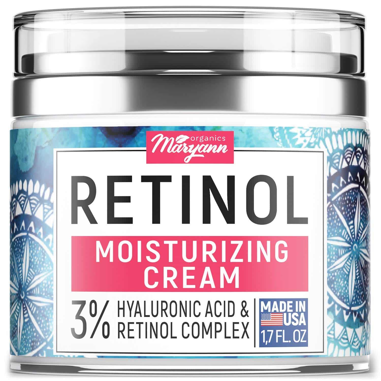 MARYANN ORGANICS Retinol Moisturizer Anti-Aging Cream