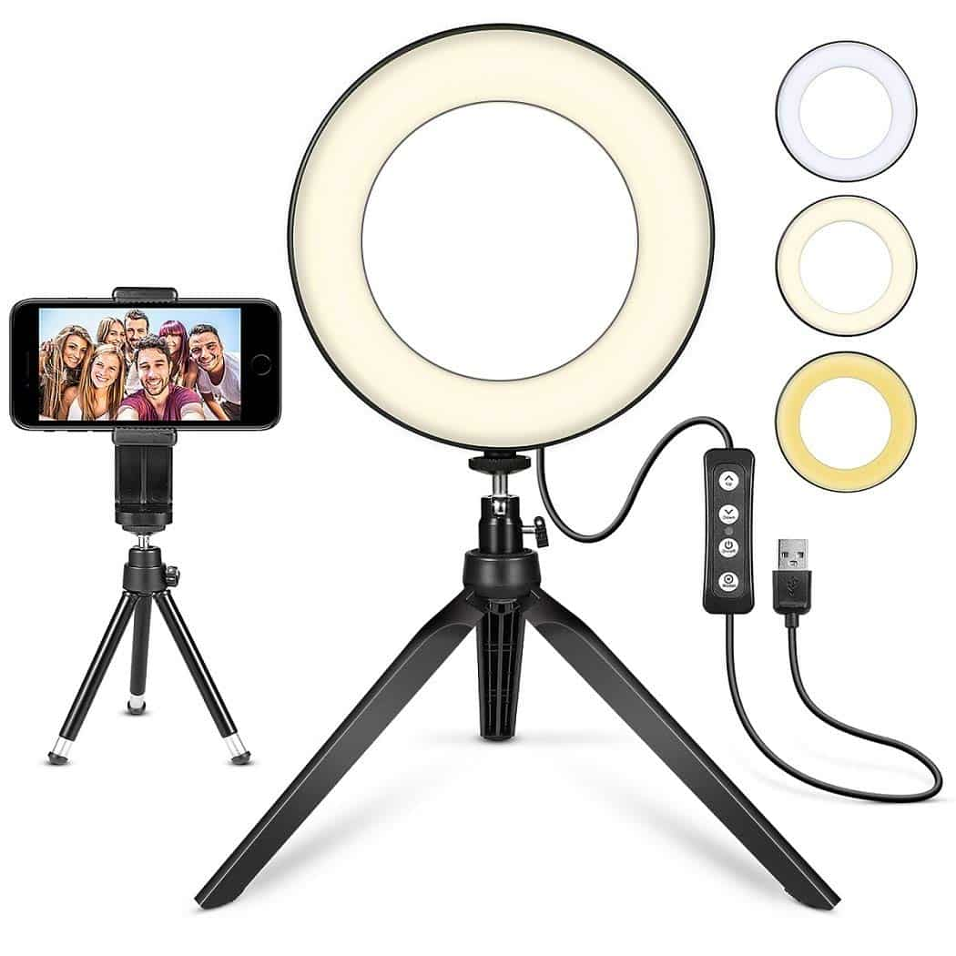 Mactream Ring Light with stand