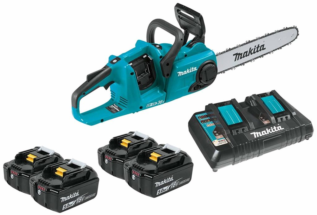 Makita XCU03PT1 (36V) LXT Lithium-ion Brushless Cordless Chainsaw