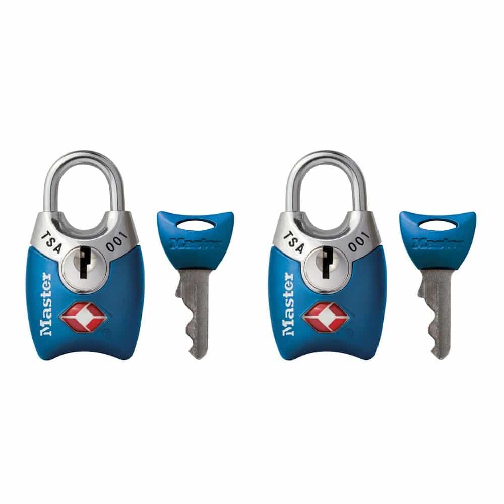 Master Lock 4689T Keyed TSA Approved Luggage Lock