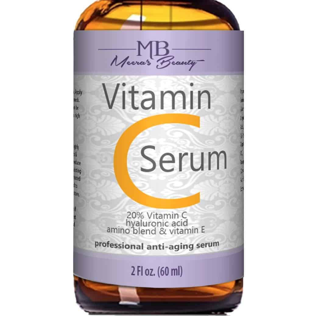 Meera's Beauty Pure Vitamin C Serum for Face