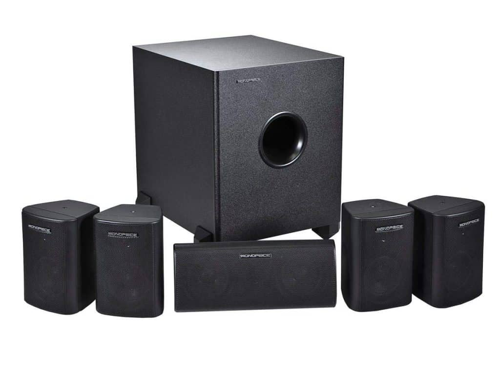 Monoprice 5.1 Channel Home Theater
