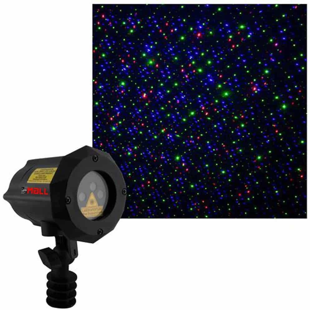 Moving Firefly LEDMALL RGB Outdoor Garden Laser Christmas Lights