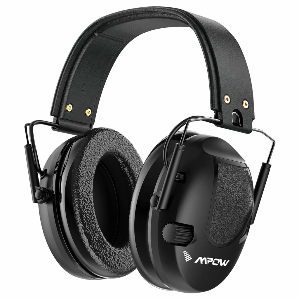 Mpow Shooting Ear protection, Professional Electronic Earmuffs