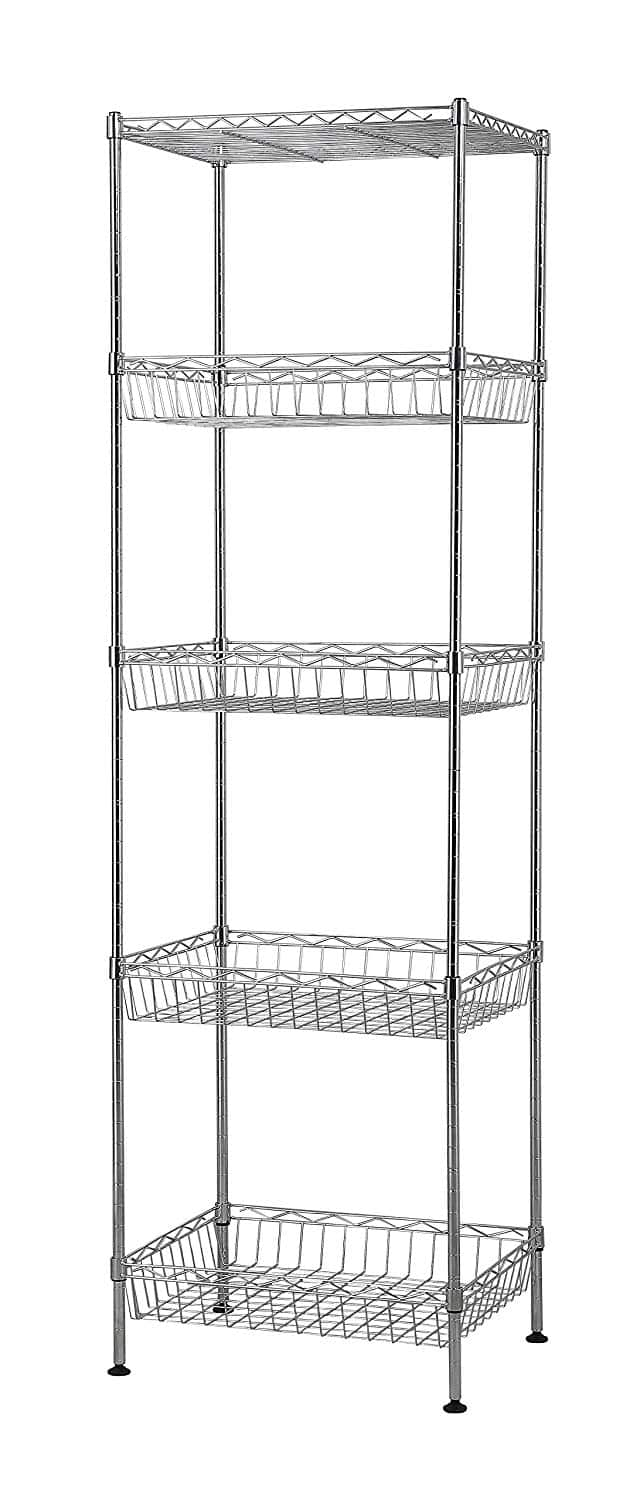 Muscle Rack Shelving Unit Organizer Rack Stand