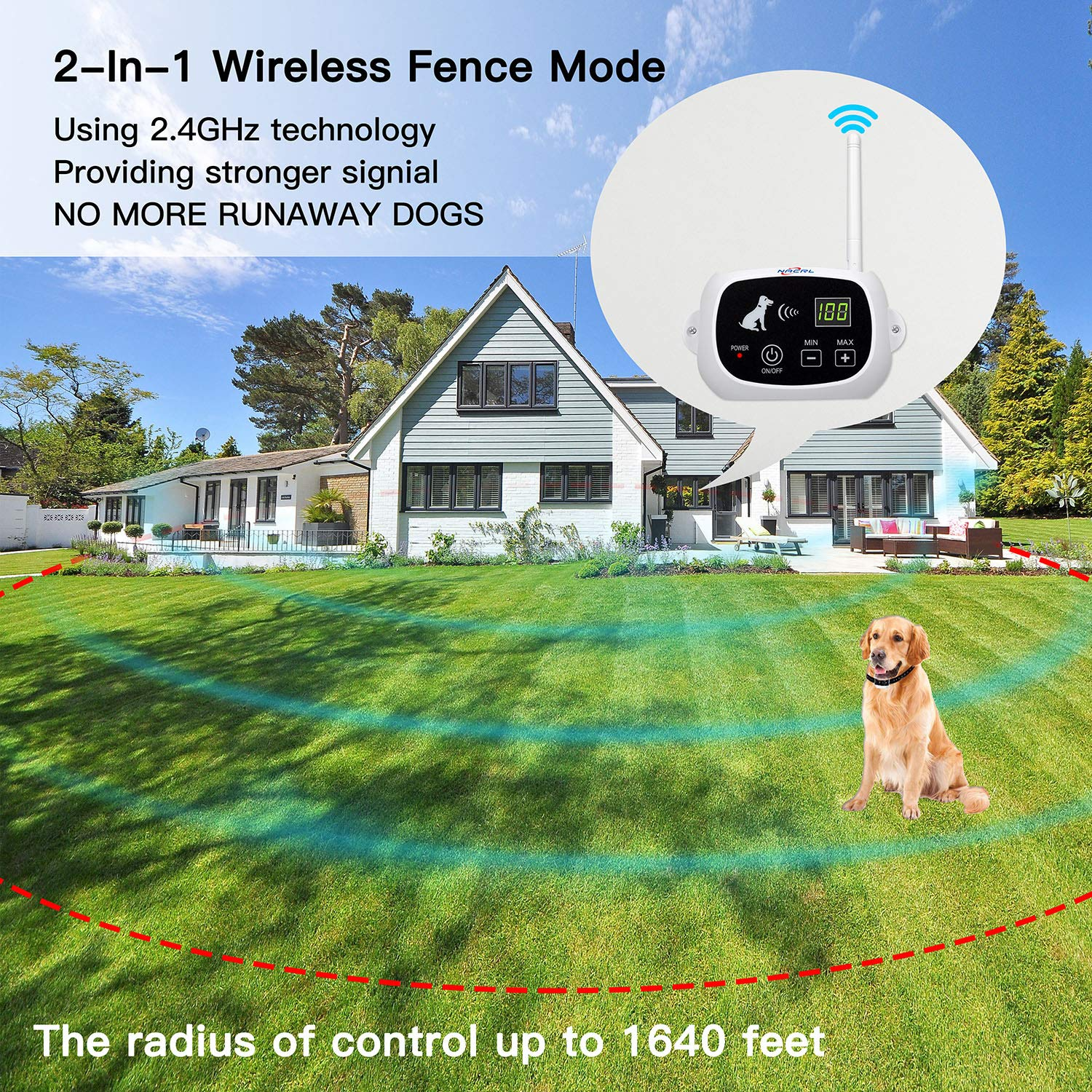 NACRL Wireless Dog Fence System