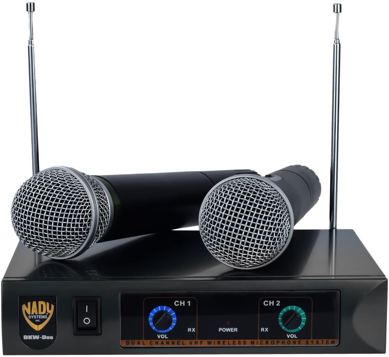 Nady DKW Dual Wireless Microphone System