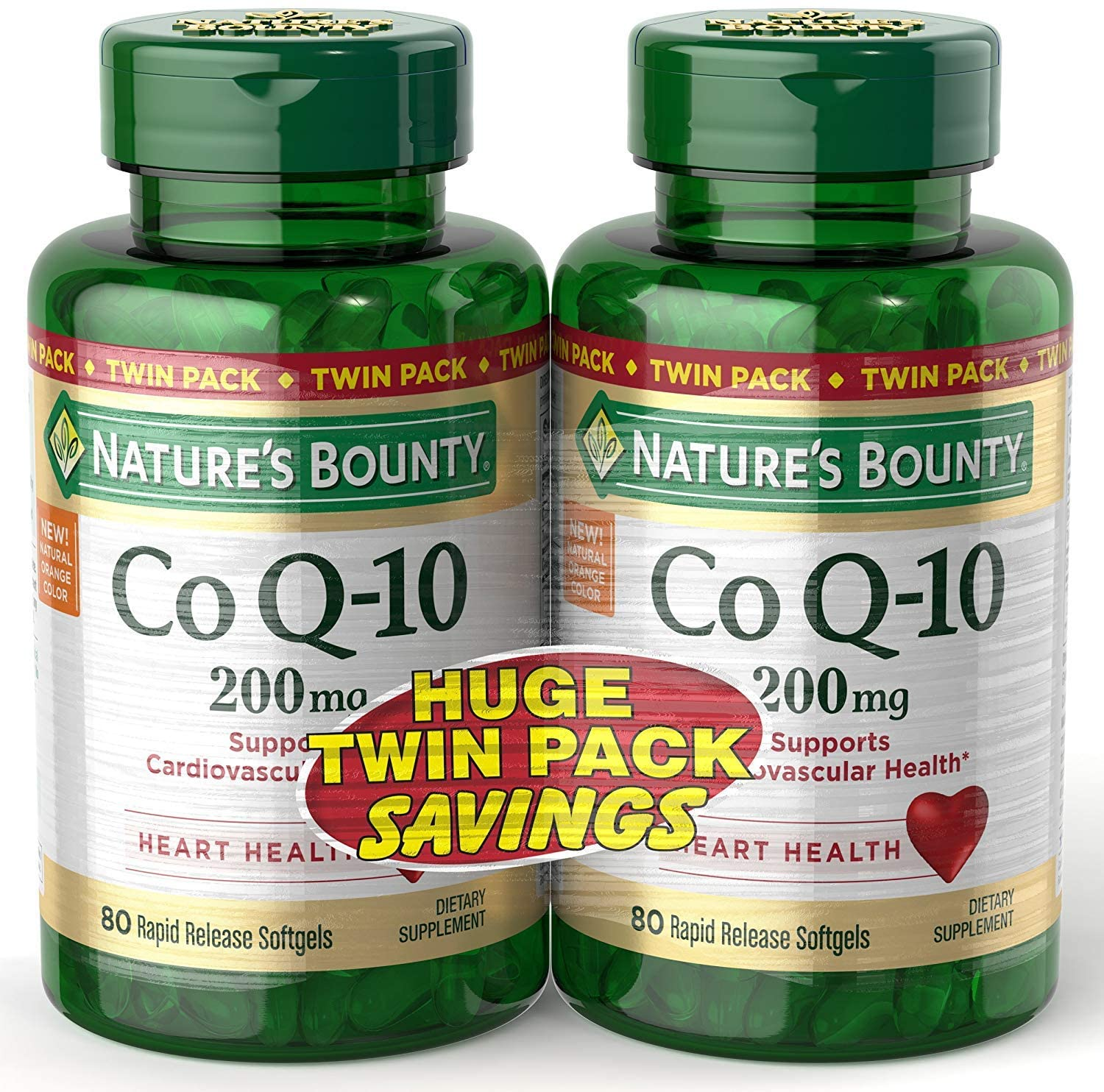 Nature's Bounty CoQ10 Supplements