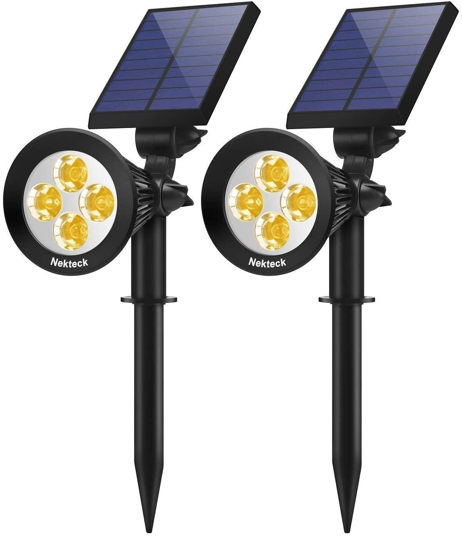 Nekteck 2 Pack Solar Lights