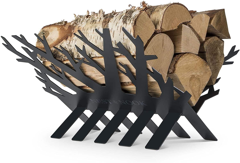 Nest & Nook Fireplace Log Holder
