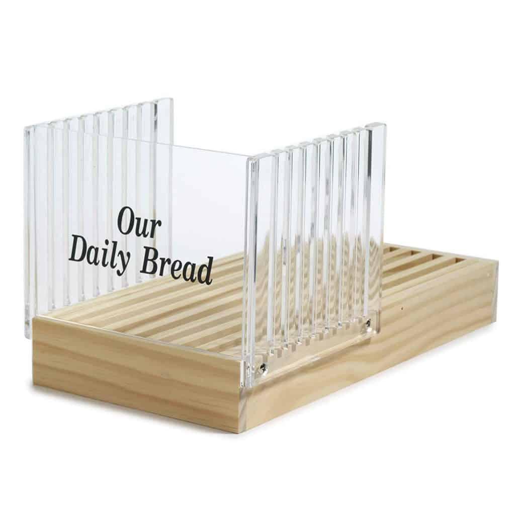 Norpro Bread Slicer with Crumb Catcher