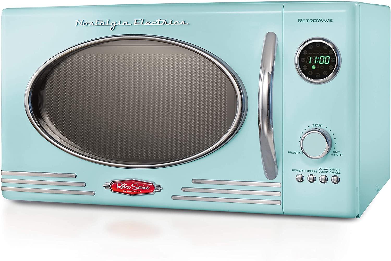 Nostalgia RM04AQ Retro Large Countertop Microwave Oven