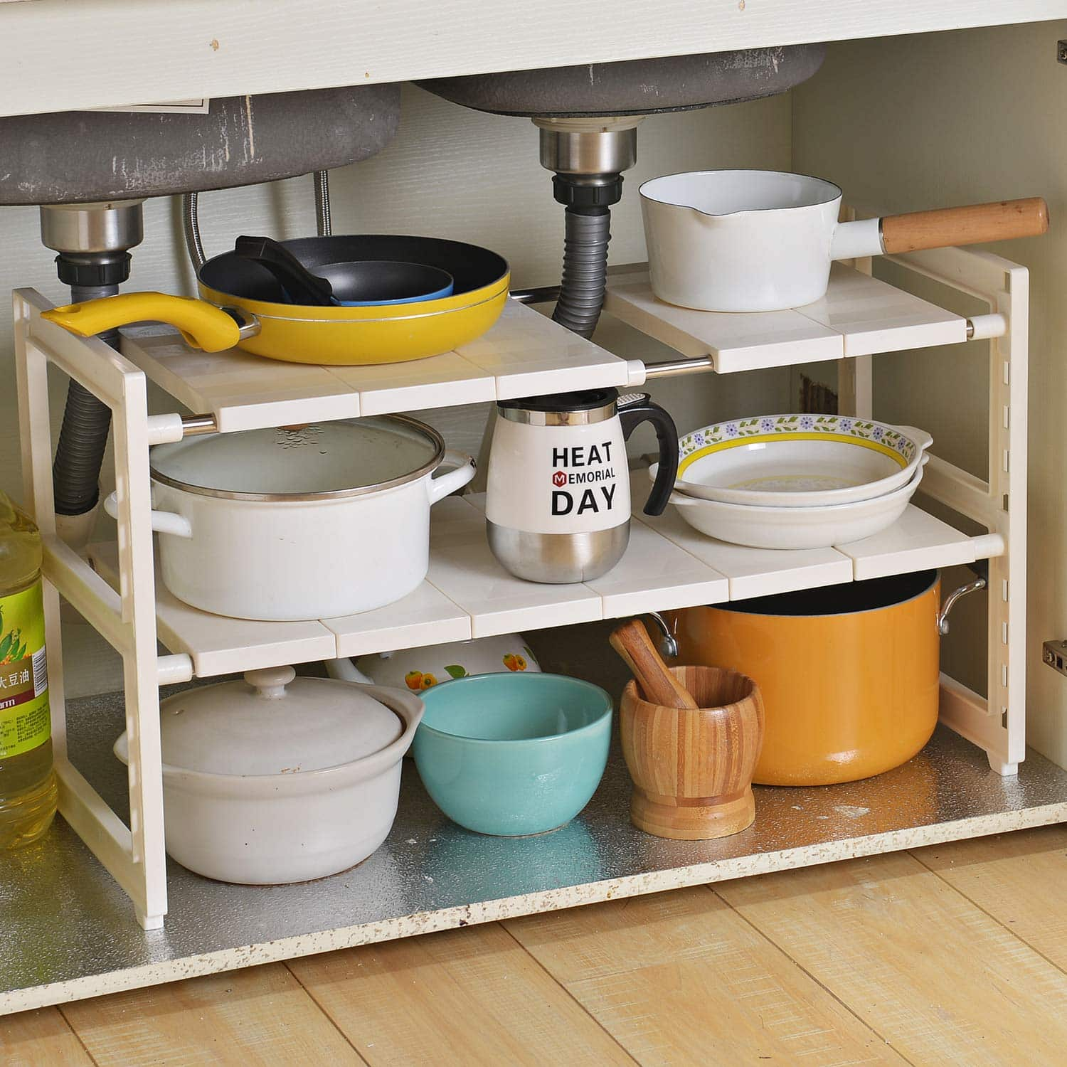 OBOR Expandable Kitchen Organizer Rack Stand