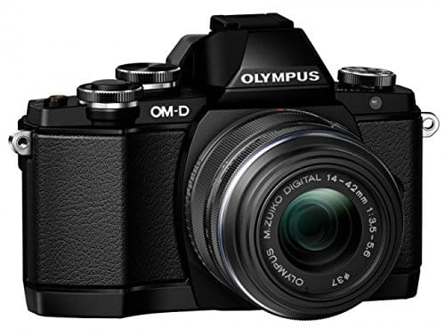 Olympus E-M10 Mirrorless Digital Camera
