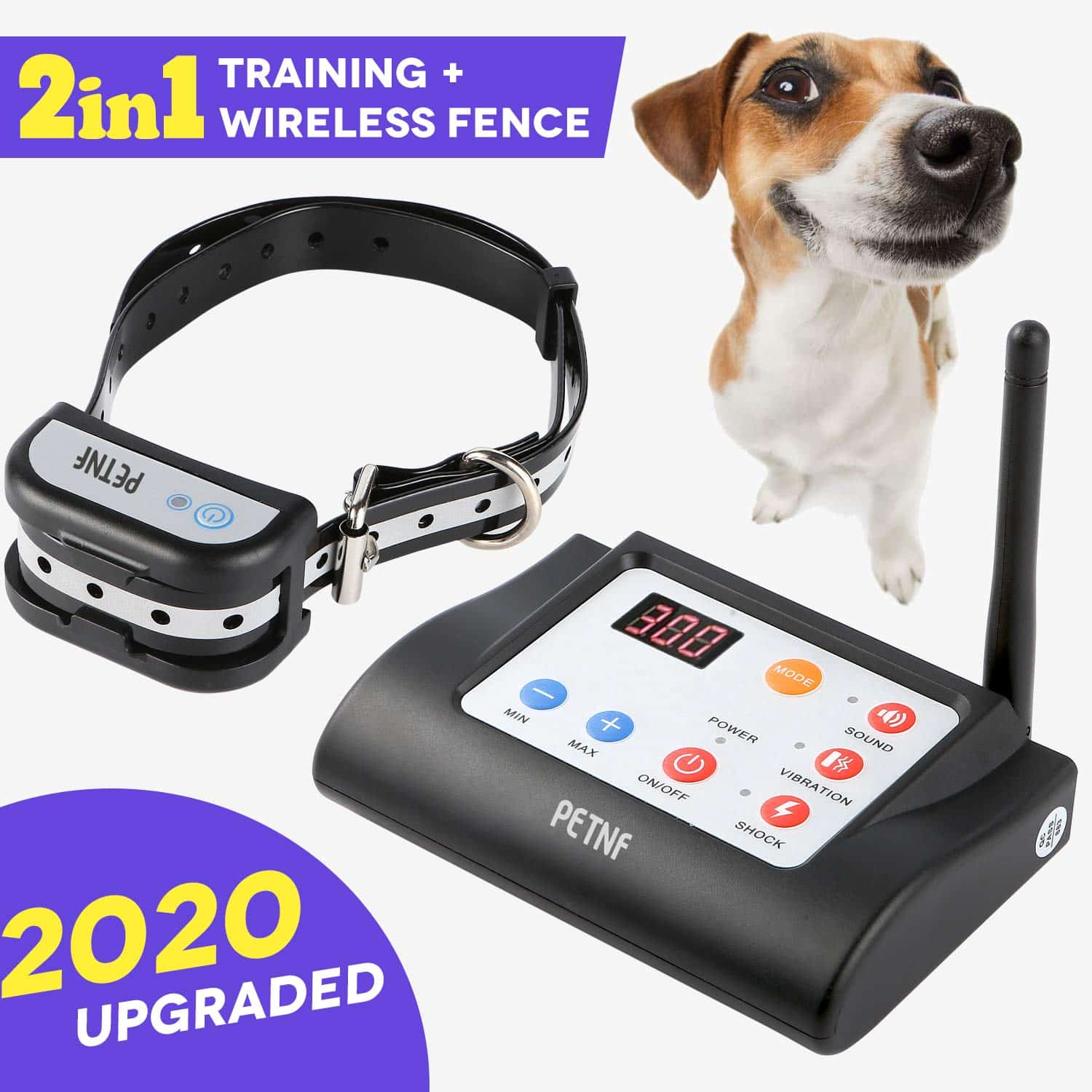 PETNF Wireless Electric Dog Fence System