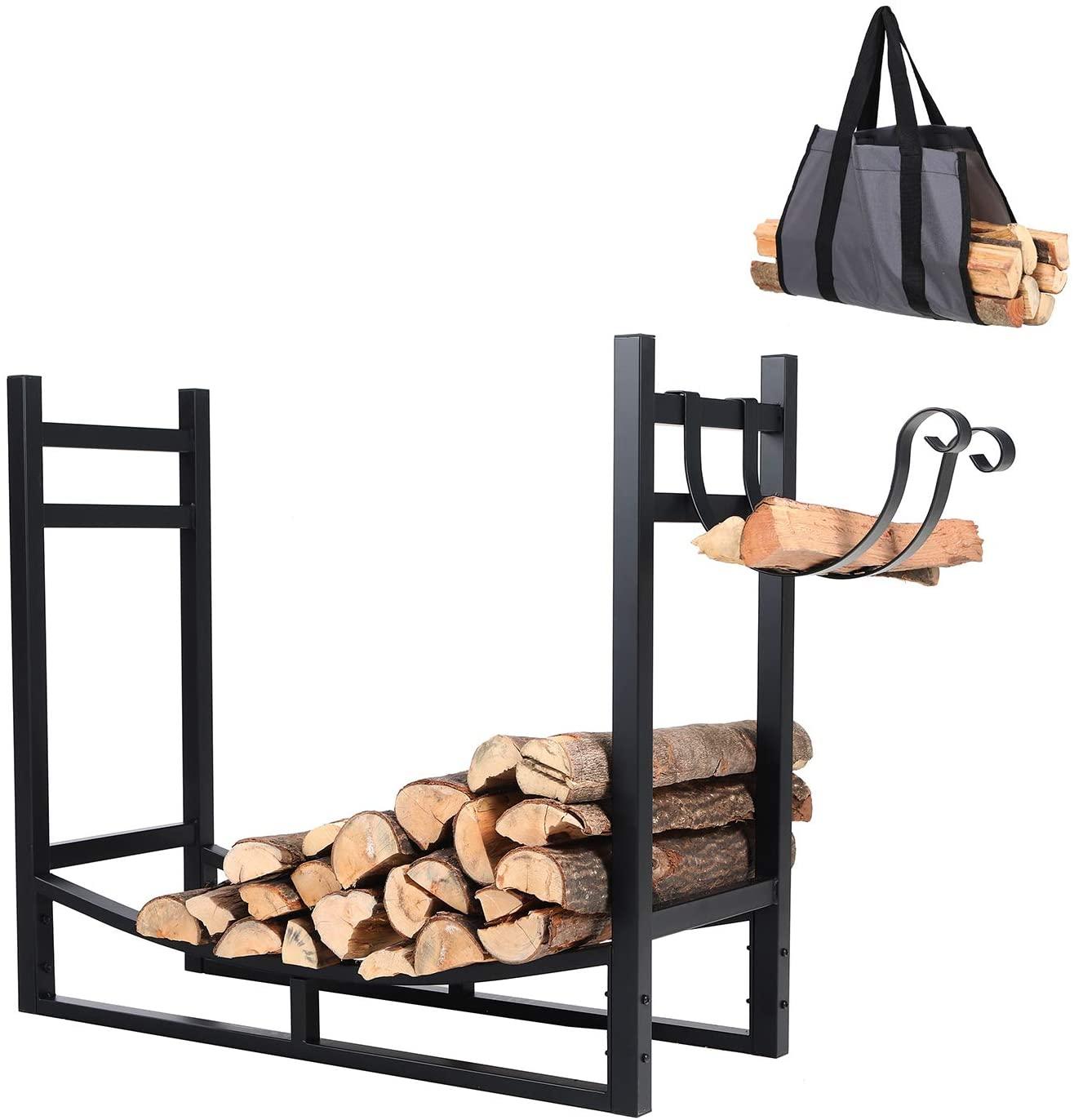 PHI VILLA Heavy Duty Firewood Racks