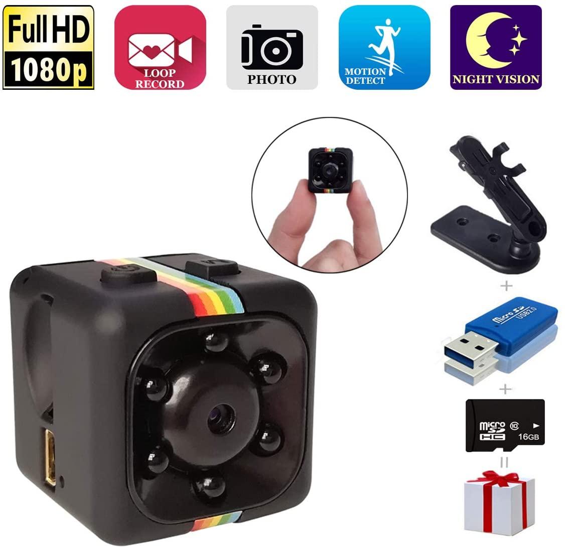 PapaKoyal Mini Hidden Spy Camera