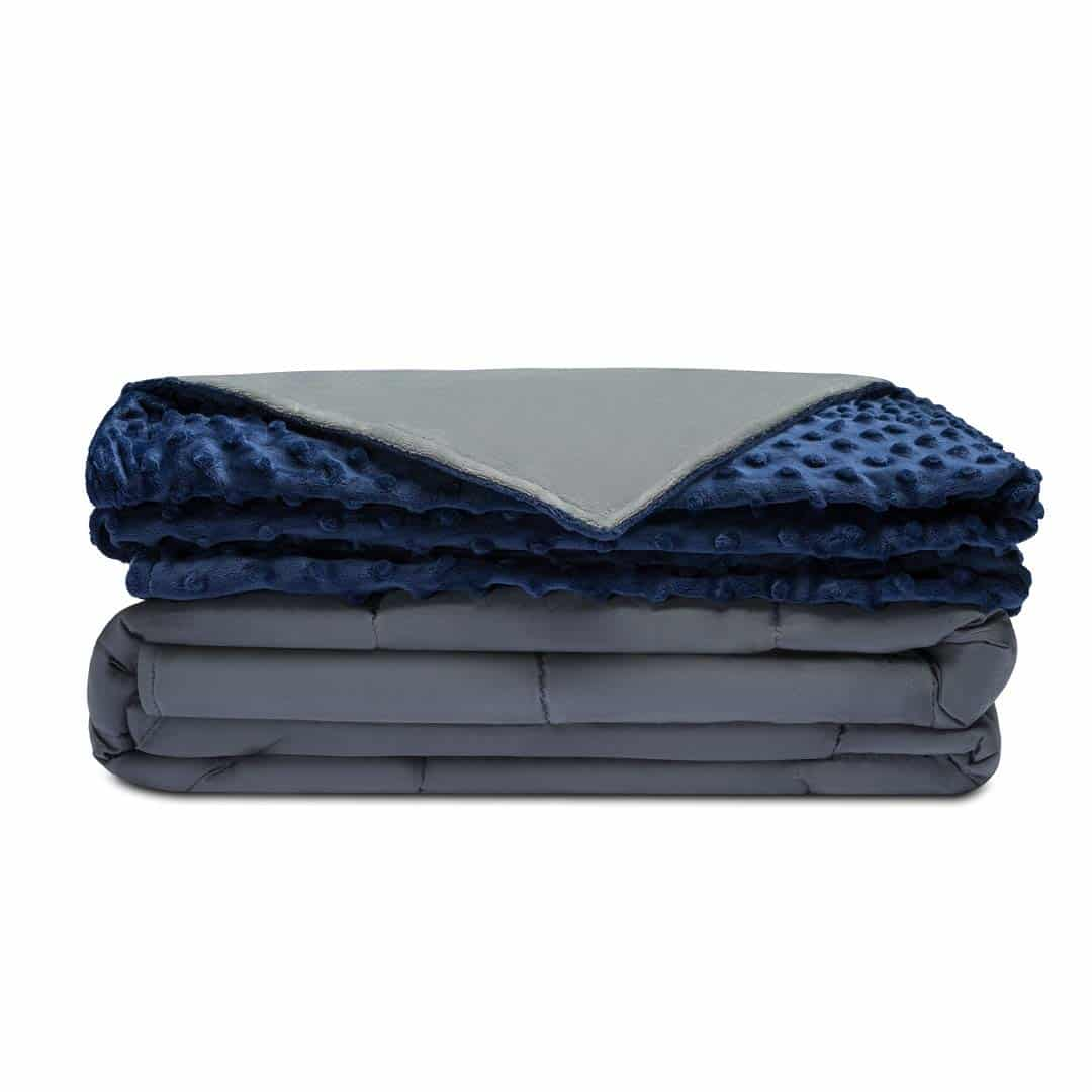 Quility Premium Weighted Blanket & Removable Cover
