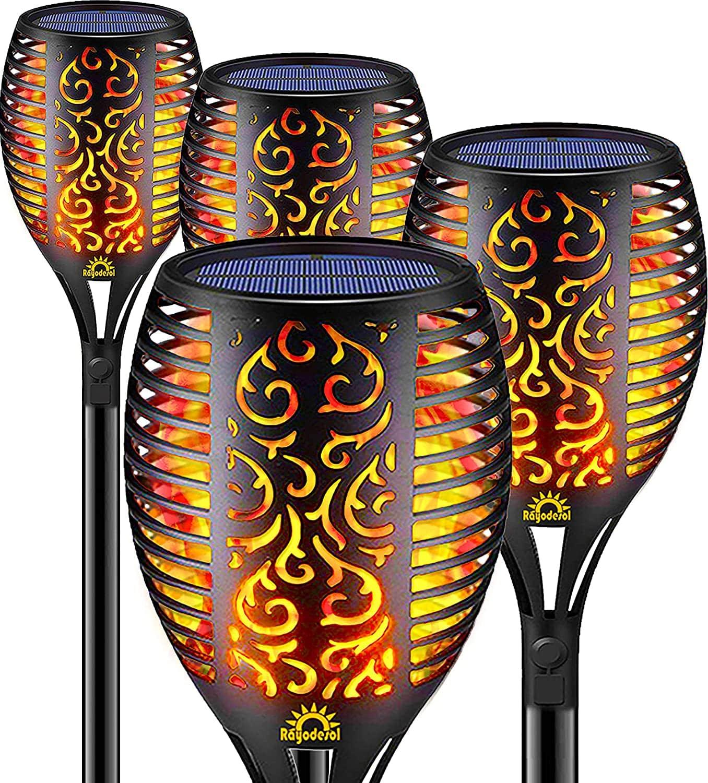 Rayodesol Solar Flame Lamp LED Light