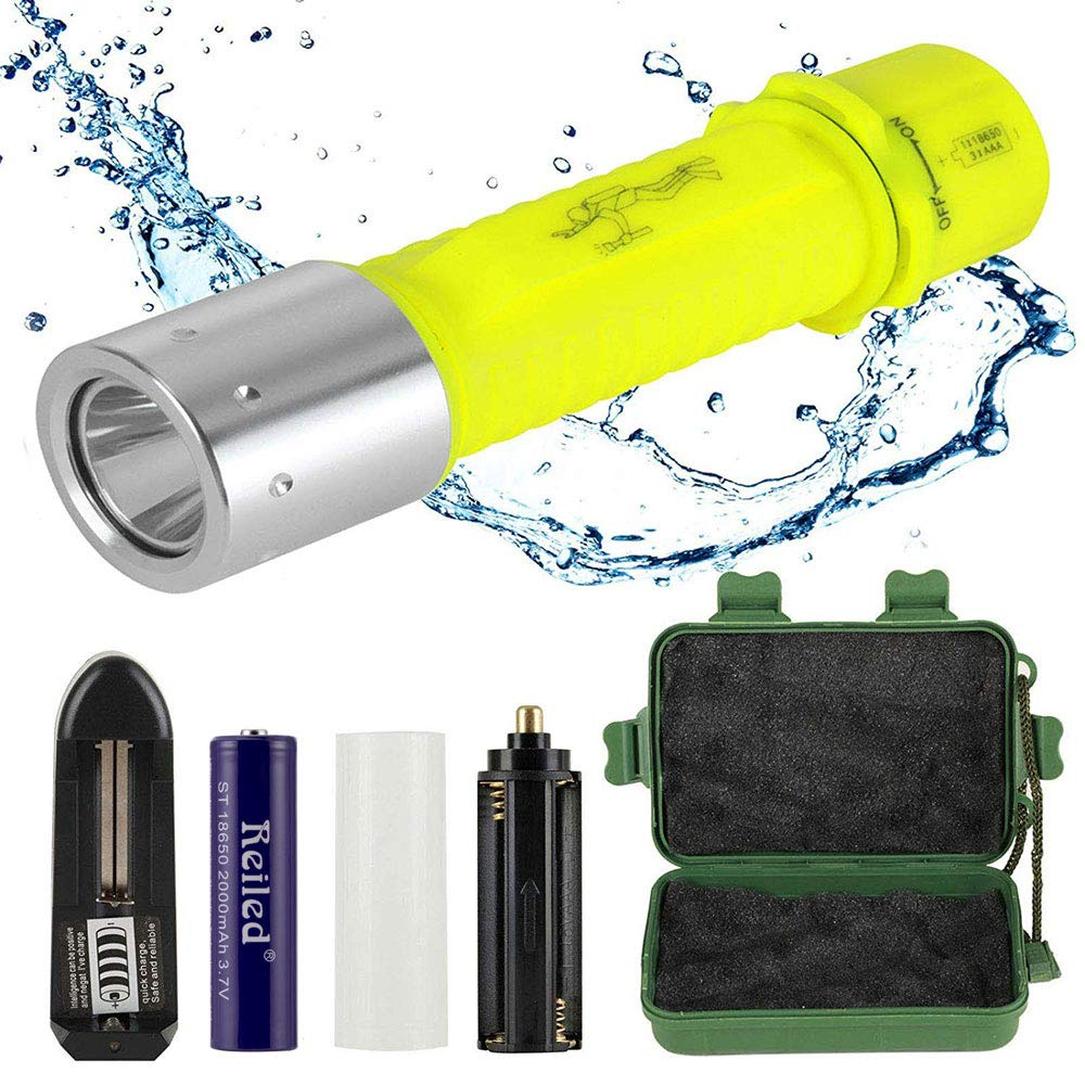 Reiled LED Diving Light